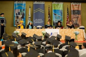 Atlantic International University Graduation Class August 2018