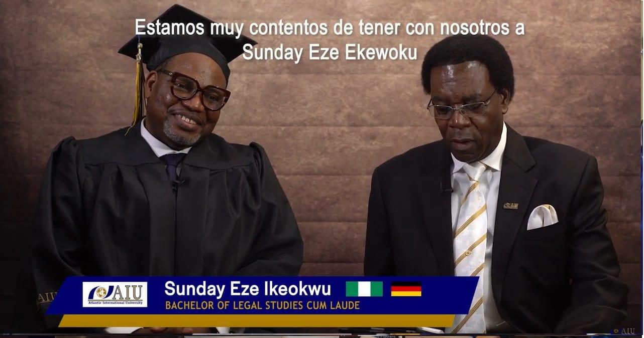 Atlantic International University Sunday Eze Ikeokwu