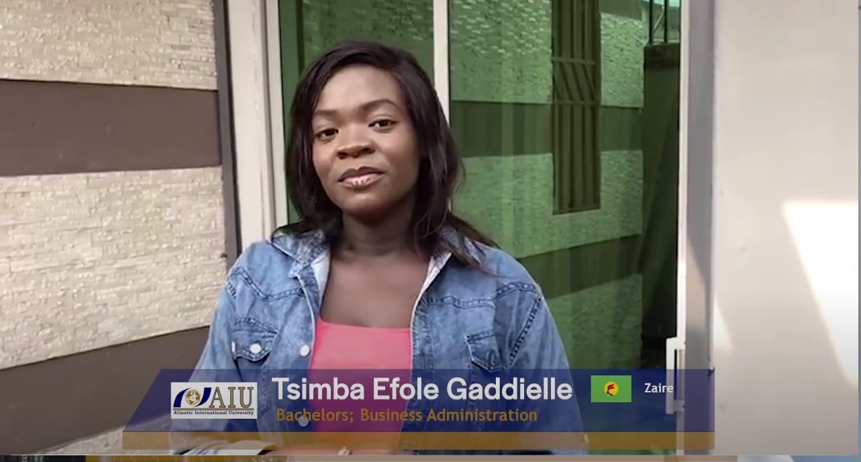 Tsimba Atlantic International University Student Interview of 2020