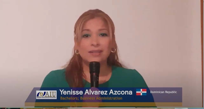 Yenise Graduating Atlantic International University Student Interview of 2020