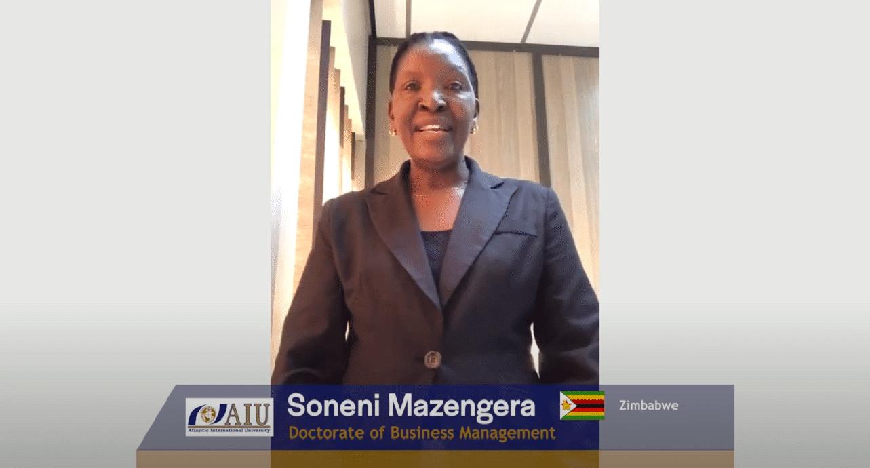 Soneni Atlantic International University Student Interview