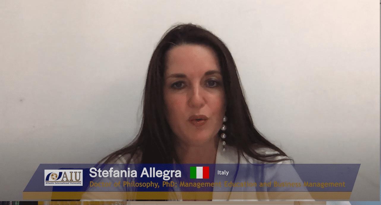 Stefania Atlantic International University Student Interview