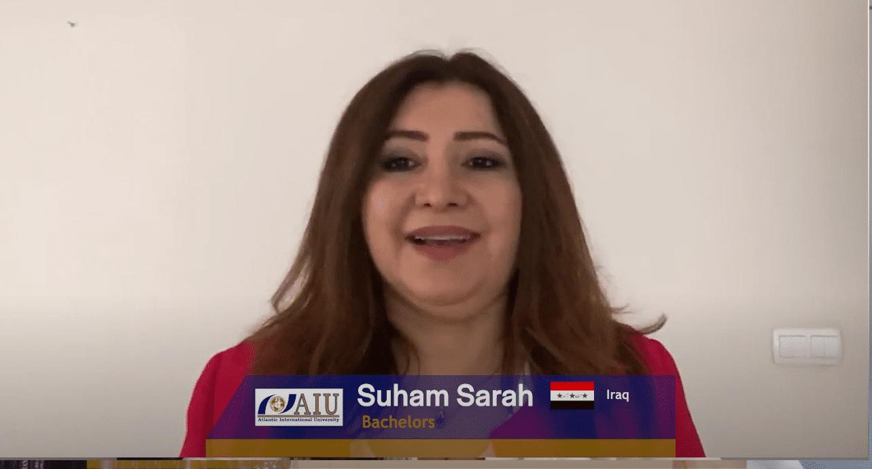 Suham Atlantic International University Student Interview of 2020