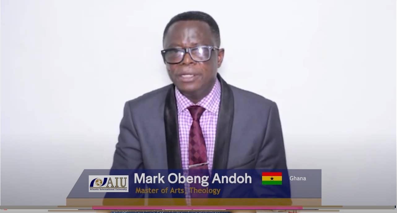 Graduating Atlantic International University Student Interview of 2020